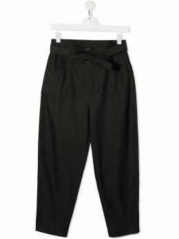 Douuod Kids брюки свободного кроя с завышенной талией PA030300