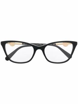 Versace Eyewear очки в оправе 'кошачий глаз' с декором Medusa VE3293