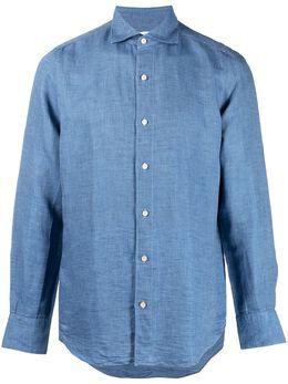 Finamore 1925 Napoli рубашка с длинными рукавами TKZNZP081288
