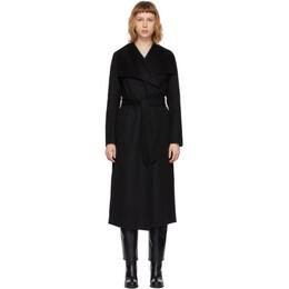 Mackage Black Wool Mai Coat MAI-CN