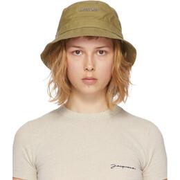 Jacquemus Green Le Bob Gadjo Bucket Hat 211AC03-211 504550
