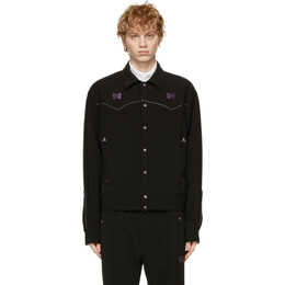 Needles Black Cowboy Jacket IN054