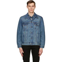 Levi's Blue Denim Vintage Fit Trucker Jacket 77380-0032