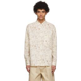 Jacquemus Beige La Chemise Baou Shirt 215SH02-215 118833