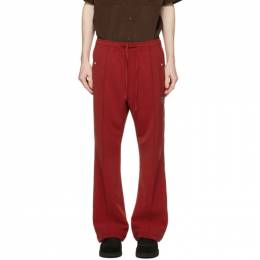 Needles Red Cowboy Track Pants IN055