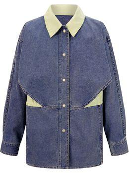 Portspure джинсовая куртка оверсайз RM3J017LWD048