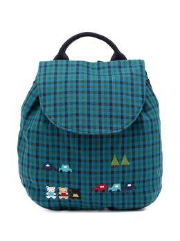 Familiar клетчатый рюкзак с аппликацией 550250