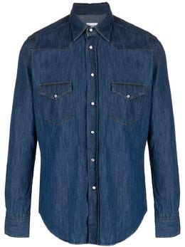 Drumohr джинсовая рубашка DS682WST