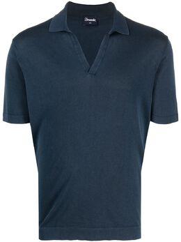 Drumohr футболка с распашным воротником D0GF146