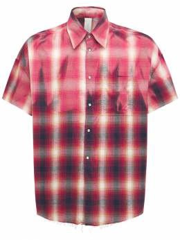 Фланелевая Рубашка Из Хлопка Giorgio Brato 73I0AQ014-VkFSIDQgVVA1