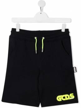GCDS Kids спортивные шорты с логотипом 027603