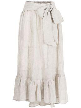 Lisa Marie Fernandez юбка Nicole с оборками 2020HS187OMCG