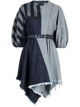 Marques'Almeida джинсовое платье в технике пэчворк RM01DR0234DNMDENIM