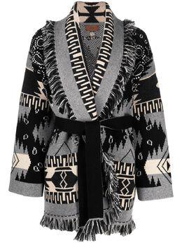 Alanui кардиган-пальто Icon LWHB044S21KNI0251085