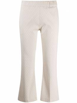 D'Exterior укороченные брюки с узором 52788