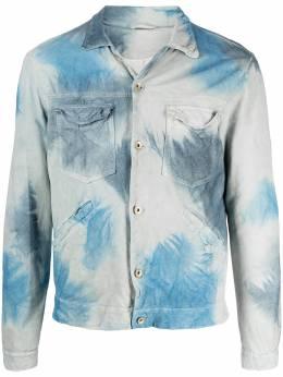 Giorgio Brato куртка-рубашка с принтом тай-дай GU21S9690CRTMTN