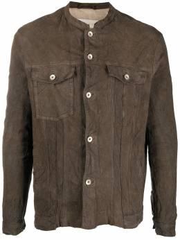 Giorgio Brato куртка с эффектом потертости GU21S9487