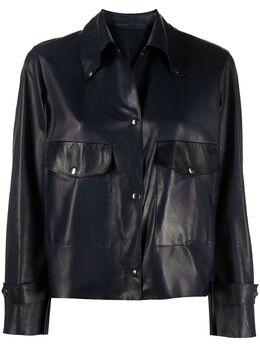 Salvatore Santoro укороченная куртка-рубашка 40028