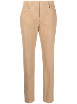 Piazza Sempione укороченные брюки в тонкую полоску PP494P0S3524