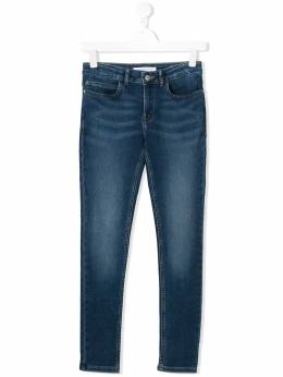 Calvin Klein Kids зауженные выбеленные джинсы IG0IG00165911