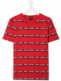 Tommy Hilfiger Junior футболка с логотипом KB0KB06552