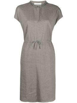 Fabiana Filippi платье с кулиской ABD271W1750000V432