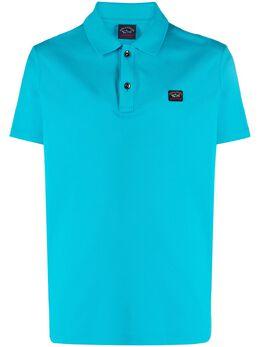 Paul & Shark рубашка поло с нашивкой-логотипом C0P1000