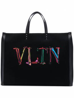Valentino Garavani сумка-тоут с логотипом VLTN VY2B0A34GWU