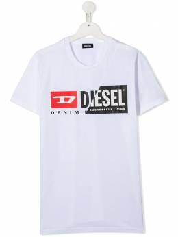Diesel Kids футболка с логотипом 01J4YH00YI9
