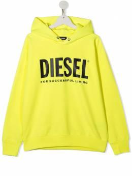 Diesel Kids худи с логотипом 01J4PP0IAJH