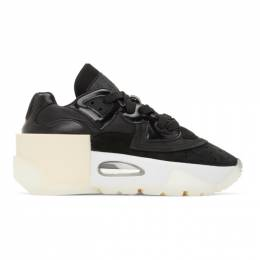 Mm6 Maison Margiela Black 6-Cylinder Sneakers S40WS0182 P3990