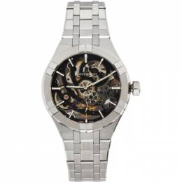 Maurice Lacroix Silver Aikon Automatic Skeleton Watch AI6028-SS002-030-1