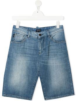 Emporio Armani Kids джинсовые шорты 3K4SJD4D2KZ