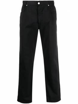 Versace Pre-Owned брюки прямого кроя 1990-х годов V250RACE