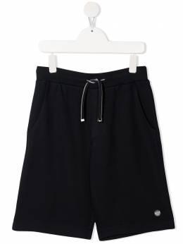 Emporio Armani Kids шорты с нашивкой-логотипом 3K4SJ34J4IZ