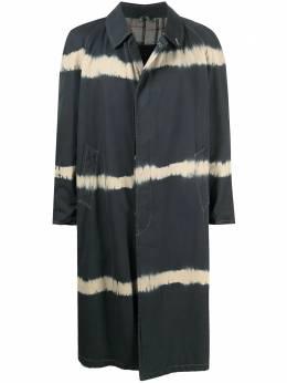 Burberry Pre-Owned пальто 1990-х годов с эффектом тай-дай BRB600E