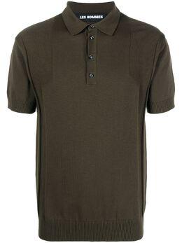 Les Hommes рубашка поло из джерси LKK133606U3100
