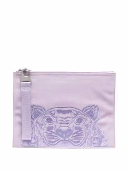 Kenzo клатч с вышивкой Tiger FA65PM302F20