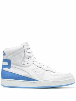 Diadora высокие кроссовки со вставками 201158569