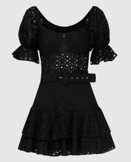 Черное платье Charo Ruiz 2300006621932