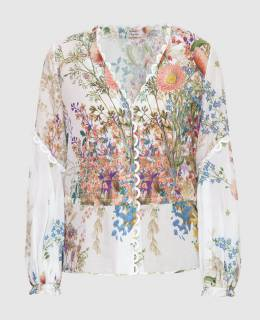 Белая блуза Charo Ruiz 2300006633737