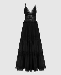 Черное платье Charo Ruiz 2300006633423