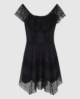 Черное платье Charo Ruiz 2300006632969