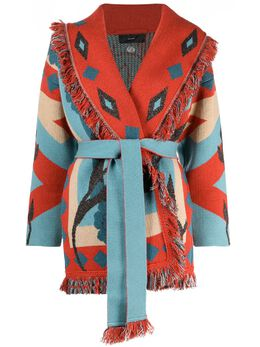 Alanui кардиган-пальто Icon LWHB044S21KNI0222885