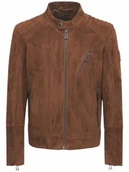 Куртка V-racer 9.9 Из Замши Belstaff 73I3GB019-NjAxMzU1