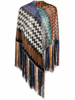 Missoni zigzag fringed cover-up MDS00009BR00DR