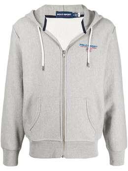 Polo Ralph Lauren спортивная куртка на молнии с капюшоном 710835476