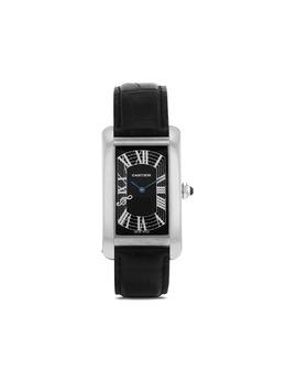 Cartier наручные часы Tank Américaine pre-owned 26.5 мм 2000-х годов 371539