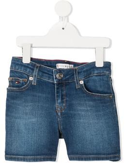 Tommy Hilfiger Junior джинсовые шорты с эффектом потертости KG0KG05773