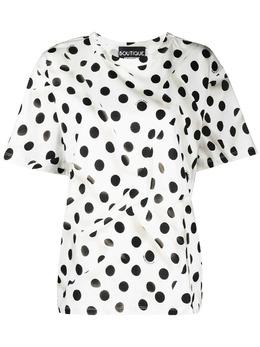 Boutique Moschino футболка в горох A12131135